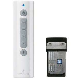 White 4-Speed Remote Control with Receiver