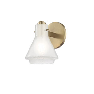 Rosie Aged Brass 6-Inch One-Light Vanity