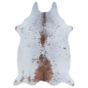 Prairie Hides Geilo Animal Ivory Buck Novelty: 3 Ft. 10 In. x 5 Ft. 1 In. Rug