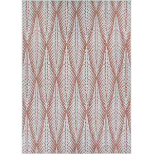 Marseille La Pleine Cerise Rectangular: 3 Ft. 9 In. x 5 Ft. 5 In. Indoor/Outdoor Rug