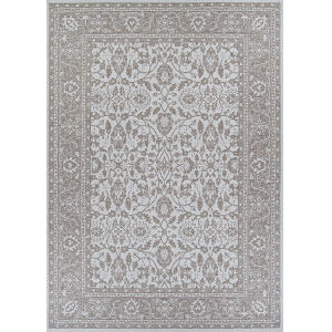 Marseille Carmoux Mushroom Rectangular: 3 Ft. 9 In. x 5 Ft. 5 In. Indoor/Outdoor Rug