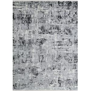Marblehead Breccia Charcoal Rectangular: 3 Ft. 11 In. x 5 Ft. 11 In. Rug