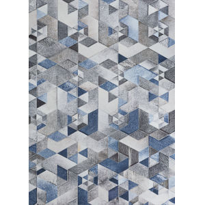 Prairie Falsterbo Denim Rectangular: 3 Ft. 9 In. x 5 Ft. 5 In. Rug