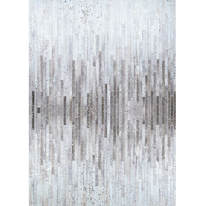 Prairie Barnwood Gray-Brown Rectangular: 5 Ft. 3 In. x 7 Ft. 6 In. Rug