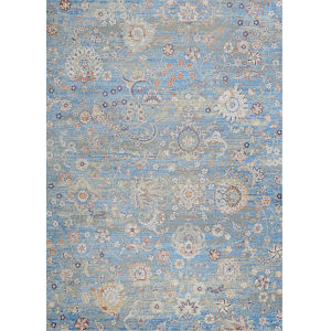 Vibrata Chateau Pacific Blue 2 Ft. 7 In. x 7 Ft. 6 In. Rectangular Runner Rug