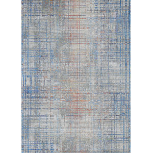 Vibrata Grasscloth Multicolor 5 Ft. 3 In. x 7 Ft. 6 In. Rectangular Area Rug