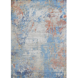 Vibrata Divergence Multicolor 5 Ft. 3 In. x 7 Ft. 6 In. Rectangular Area Rug
