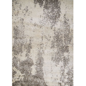 Bromley Taiga Abstract Frost Ivory Rectangular: 7 Ft. 10 In. x 11 Ft. 2 In. Rug