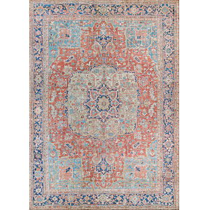 Pasha Heriz Ruby Rectangular: 2 Ft. x 8 Ft. Runner