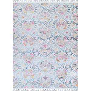 Evolution Basma Langite Rectangular: 5 Ft. 3 In. x 7 Ft. 10 In. Rug