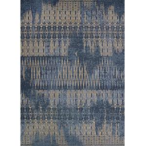 Dolce Blue Nile Indigo Rectangular: 2 Ft. 3 In. x 7 Ft. 10 In. Indoor/Outdoor Runner