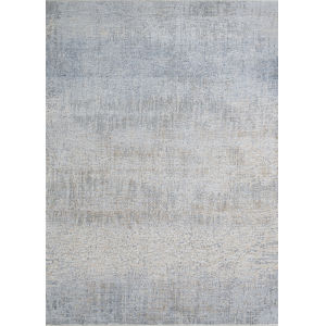 Couture Aquarelle Pewter 2 Ft. x 3 Ft. 7 In. Rectangular Area Rug