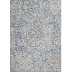 Couture Bordado Light Gray 2 Ft. 2 In. x 8 Ft. 11 In. Rectangular Runner Rug