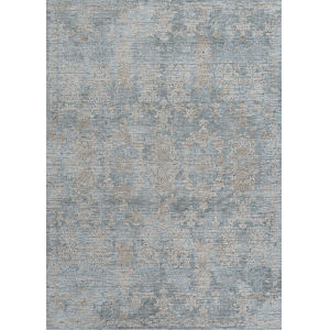 Couture Renaissance Pewter 3 Ft. 9 In. x 5 Ft. 5 In. Rectangular Area Rug