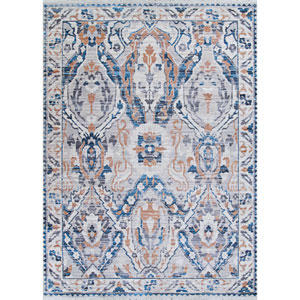 Bliss Zagros Greige Rectangular: 2 Ft. 6 In. x 7 Ft. 10 In. Runner