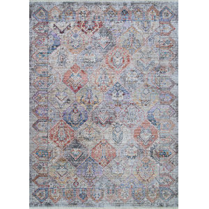 Bliss Parthia Greystone Rectangular: 3 Ft. 11 In. x 5 Ft. 11 In. Rug