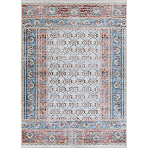 Bliss Bakhitari Papyrus Indigo Rectangular: 9 Ft. x 13 Ft. Rug