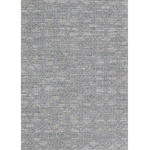 Fresco Garden Twine Rainstorm 2 Ft. 7 In. x 7 Ft. 9 In. Rectangular Indoor/Outdoor Runner Rug