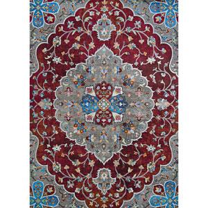Gypsy Hafiz Antique Red Rectangular: 5 Ft. 3 In. x 7 Ft. 6 In. Rug