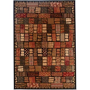 Everest Cairo Midnight Rectangular: 5 ft. 3 in. x 7 ft. 6 in. Rug
