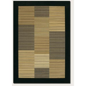 Everest Hamptons Black Rectangular: 5 Ft. 3 In.  x  7 Ft. 6 In. Rug
