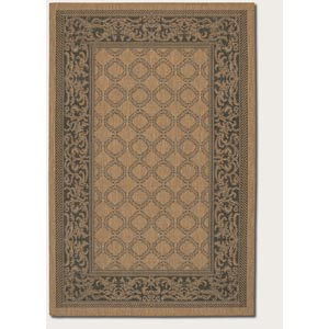 Recife Garden Lattice Cocoa Rectangular: 5 Ft. 3 In.  x  7 Ft. 6 In. Rug