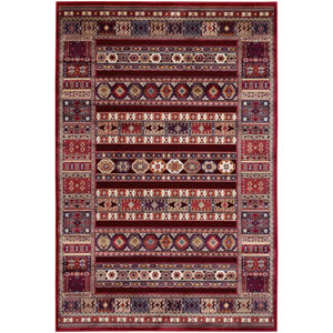 Cire Jerrico Ruby Rectangular: 3 Ft. 11 In. x 5 Ft. 5 In. Rug