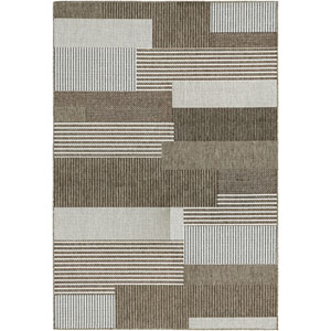 Monaco Starboard Grey and Sand Rectangular: 7 Ft 6 In x 10 Ft 9 In Rug