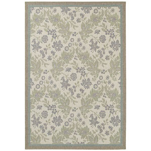 Monaco Palermo and Champagne-Moss Runner: 2 Ft. 3 In. x 11 Ft. 9 In. Rug