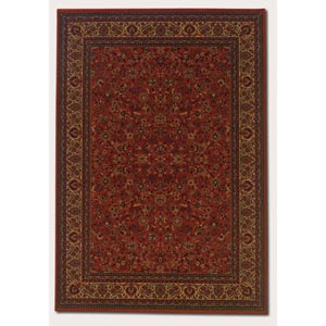 Everest Isfahan Crimson Rectangular: 5 Ft. 3 In.  x  7 Ft. 6 In. Rug