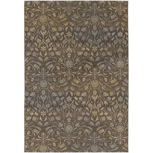 Dolce Coppola Brown and Beige 5 Ft. 3 In. X 7 Ft. 6 In. Indoor/Outdoor Rectangular Rug
