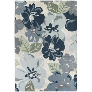 Dolce Novella Grey 5 Ft. 3 In. X 7 Ft. 6 In. Indoor/Outdoor Rectangular Rug