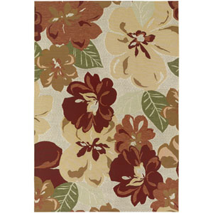 Dolce Novella Rose Bud 5 Ft. 3 In. X 7 Ft. 6 In. Indoor/Outdoor Rectangular Rug
