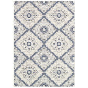 Dolce Brindisi Ivory Rectangular: 5 Ft. 3 In. x 7 Ft. 6 In. Rug