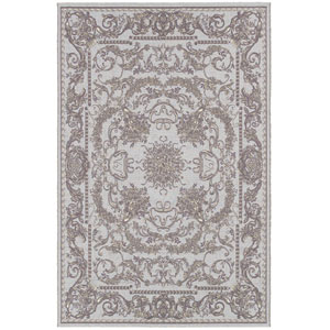 Dolce Sky Blue Rectangular: 5 Ft. 3 In. x 7 Ft. 6 In. Rug
