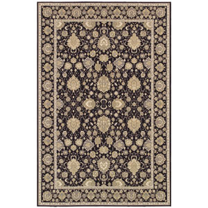 Dolce Pompano Black Rectangular: 5 Ft. 3 In. x 7 Ft. 6 In. Rug