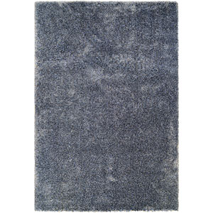 Bromley Breckenridge Navy and Gray Runner: 2 Ft. 2-Inch x 7 Ft. 10-Inch