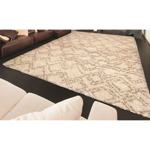 Bromley Ivory Rectangular: 5 Ft. 3 In. x 7 Ft. 6 In. Rug