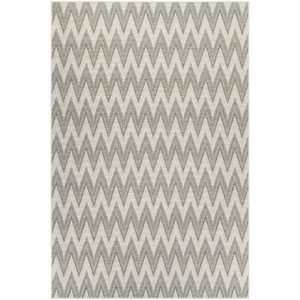Monaco Avila Ivory and Sand Rectangular: 7 Ft 6 In x 10 Ft 9 In Rug