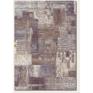 Easton Abstract Mural Antique Cream 5 Ft. 3 In. X 7 Ft. 6 In. Rectangular Rug