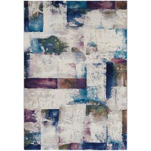 Easton Watercoloring Multicolor Rectangular: 2 Ft. x 3 Ft. 7 In. Rug
