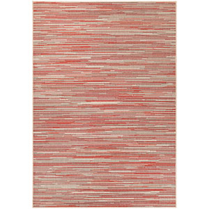Monaco Alassio Sand and Salmon Rectangular: 7 Ft 6 In x 10 Ft 9 In Rug