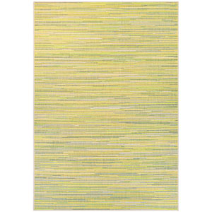Monaco Alassio Sand and Lemon Rectangular: 7 Ft 6 In x 10 Ft 9 In Rug