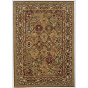Royal Kashimar Persian Panel Hazelnut Rectangular: 5 ft. 6 in. x 7 ft. 10 in. Rug