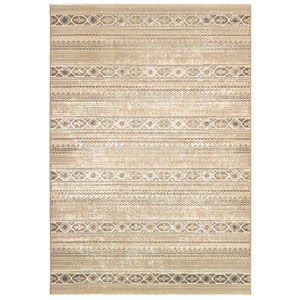 Marina Malta Champagne Rectangular: 5 Ft. 3 In. x 7 Ft. 6 In. Rug
