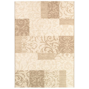 Marina Cyprus Pearl Rectangular: 5 Ft. 3 In. x 7 Ft. 6 In. Rug