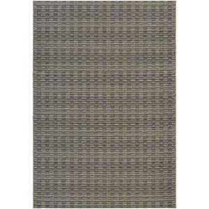 Cape Barnstable Black and Gold Rectangular: 7 Ft 10 In x 10 Ft 9 In Rug