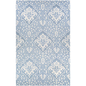 Crawford Contempo Garden Pewter Rectangular: 2 Ft. x 3 Ft. Rug