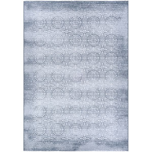 Marina Unison Slate Blue and Pearl Rectangular: 2 Ft. x 3 Ft. 11 In. Rug
