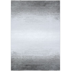Serenity Weathered Mushroom and Opal Rectangular: 3 Ft. 11 In. x 5 Ft. 6 In. Rug